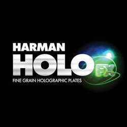 "Ilford Harman Green Sensitive Holographic Plates (4 x 5"")"