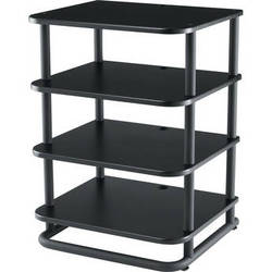 SANUS Euro Series EFA31-B1 Modular Audio Rack (Black)