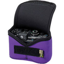 LensCoat BodyBag Small Camera Case (Purple)