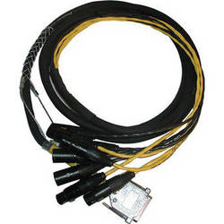 Avid Technologies DB25-XLR M+F AES/EBU DigiSnake - Digital I/O Snake (12-Foot)