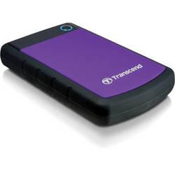 Transcend 1TB StoreJet 25H3P Anti-Shock External Hard Drive (Purple)