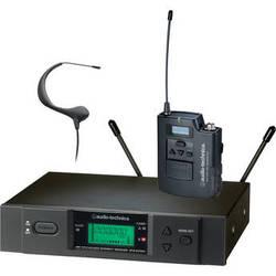 Audio-Technica ATW-3193 Wireless UHF Bodypack System with Headworn Microphone (Black)