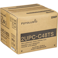 "DNP 4 x 8"" Print Pack For DS-SL10, Sony UP-CR10L, UP-CX1 (Perforated)"