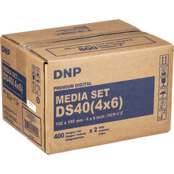 "DNP 4 x 6"" Print Pack for DS40 Digital Photo Printer"