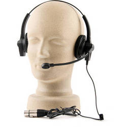 PortaCom H-2000LT Lightweight Headset with Mic for Wireless Intercom Systems
