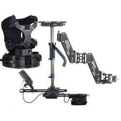Steadicam Zephyr Camera Stabilizer with HD Monitor, Standard Vest, and Gold Mount Battery Plate