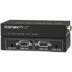 KanexPro VGA 1 x 2 Splitter with Audio