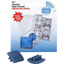 Carl R-01/4 - Straight Blade Cartridge (4 Pack)