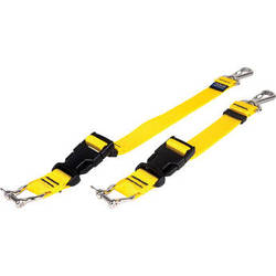 Beneath the Surface Beach Diving Straps with Stainless Steel for Tray System (Yellow)