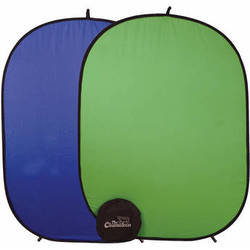 "Cool-Lux Chroma key Chameleon Blue/Green Screen (57 x 77"")"