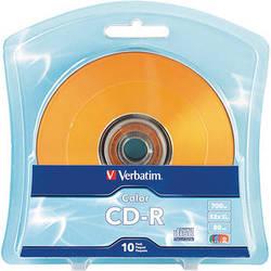 Verbatim Color CD-R 80 Minute (10 pack)