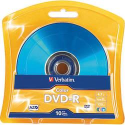 Verbatim AZO DVD-R Colors (4.7 GB/120 Minutes)