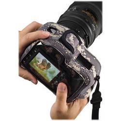LensCoat BodyGuard Clear Back Camera Case (Digital Camo)