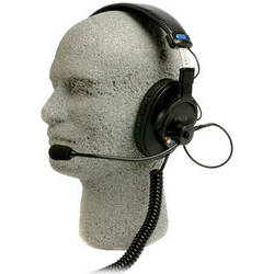 Remote Audio BCSHSSXEBC Communication Headset with Electret Boom Mic