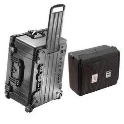 Pelican 1620 Case with Porta Brace Interior Case (Black)