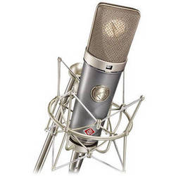Neumann TLM 67 Multi-Pattern Switchable Studio Microphone (Pearl Gray/Nickel)