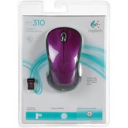 Logitech M310 Wireless Mouse (Vivid Violet)
