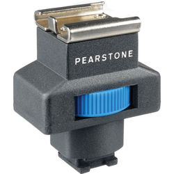 Pearstone SSA-III Universal Shoe Adapter for Sony Camcorders with Active Interface Shoe