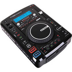 DJ-Tech iScratch 101V2 Top Load CD/ MP3 Player with DSP & Sampler