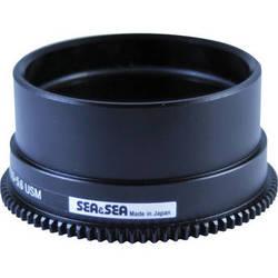 Sea & Sea Focus Gear for Nikon AF-S DX Micro-NIKKOR 85mm f/3.5G ED VR Lens in Port on MDX Housing