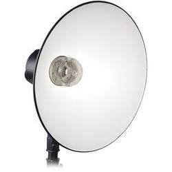 """Norman 16"""" Soft White Reflector, No Diffuser Dome"""