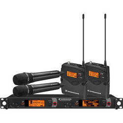 Sennheiser 2000 Series Dual Combo Wireless Microphone System