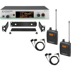 Sennheiser ew 300-2 IEM G3 Wireless Stereo Audio Monitoring System (A: 516-558MHz)