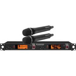 Sennheiser 2000 Series Dual Handheld Wireless Microphone System
