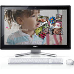 "Sony Signature VAIO L22 VPCL22SFX/W 24"" All-in-One Desktop Computer (White)"