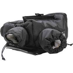 Porta Brace POL-DSLR2 Polar Bear Insulated Camera Case (Black)