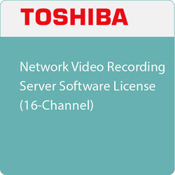 Toshiba Network Video Recording Server Software License (16-Channel)