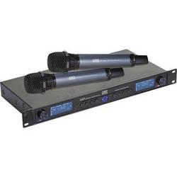 RSQ Audio UHF-6200 Dual UHF Wireless Microphone System