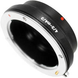 Bower AB4343 Micro 4/3 Body to Olympus 4/3 Lens Adapter