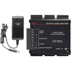 RDL FP-PA18 18 Watt Audio Power Amplifier with Power Supply