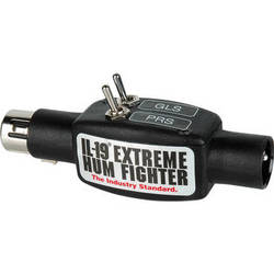 Sescom IL-19-PRS-GLS Inline Audio Hum Eliminator