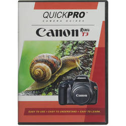 QuickPro Training DVD for the Canon EOS Rebel T3