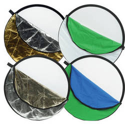 """Impact 7-in-1 Collapsible Reflector Disc - 22"""""""
