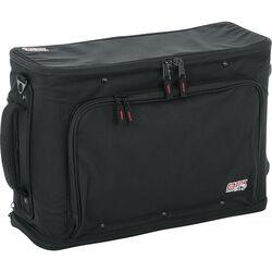 Gator Cases 2U Lightweight Rolling Rack Bag (Black)