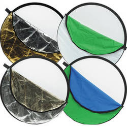 """Impact 7-in-1 Collapsible Reflector Disc - 42"""""""