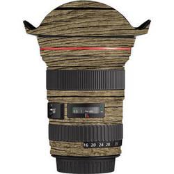 LensSkins Lens Wrap for Canon 16-35mm f/2.8L (Woodie)