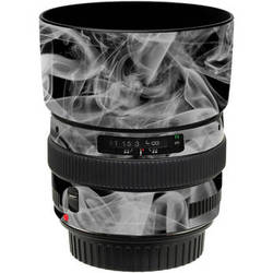 a5fcca340b23 LensSkins Lens Wrap for Canon 50mm f/1.4 (Black and White Smoke)
