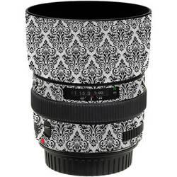 LensSkins Lens Wrap for Canon 50mm f/1.4 (BW Damask)