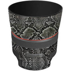 LensSkins Lens Wrap for Canon 85mm f/1.2L II (Snake Skin)