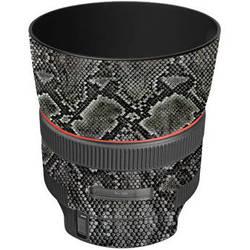 LensSkins Lens Wrap for Canon 85mm f/1.2L II (Snake Skin)