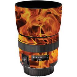 LensSkins Lens Wrap for Canon 85mm f/1.8 (Fire)