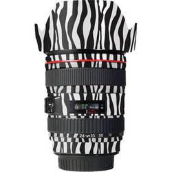 LensSkins Lens Wrap for Canon 24-105mm f/4L IS (Zebra (Wild Child))