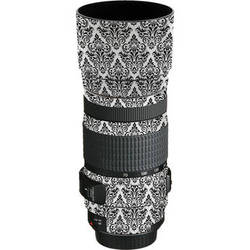 LensSkins Lens Wrap for Canon 70-300mm f/4-5.6 (BW Damask)