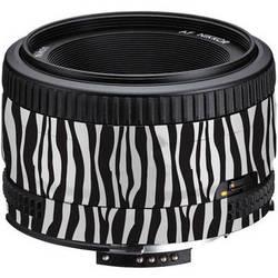 LensSkins Lens Wrap for Nikon 50mm f/1.8D (Zebra (Wild Child))