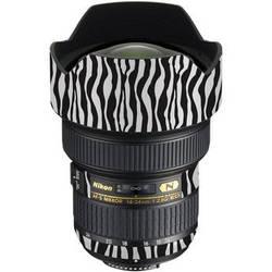 LensSkins Lens Wrap for Nikon 14-24mm f/2.8G (Zebra (Wild Child))