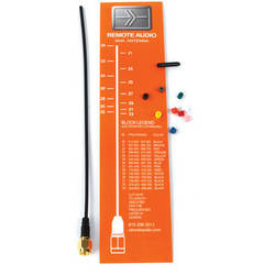 Remote Audio ANSMAP-F Kit Ultra Flexible SMA Antenna Kit